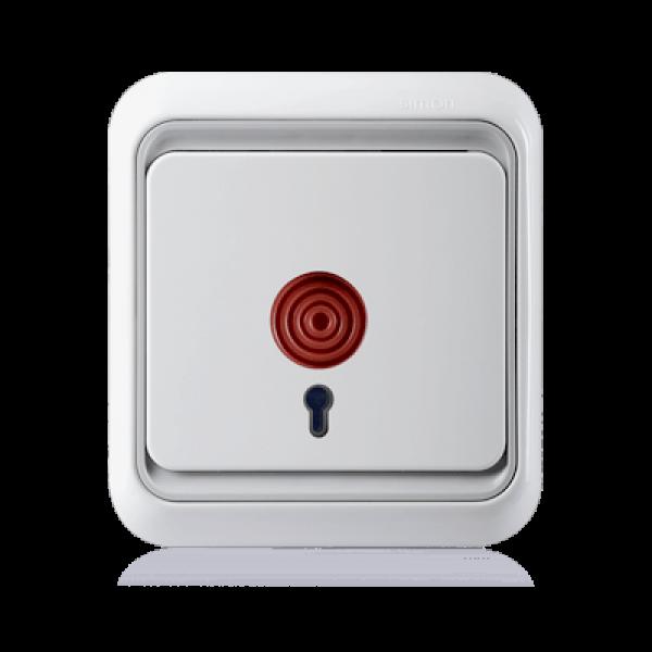 Công tắc nút nhấn khẩn cấp mặt vuông Simon Series 60 60809-50