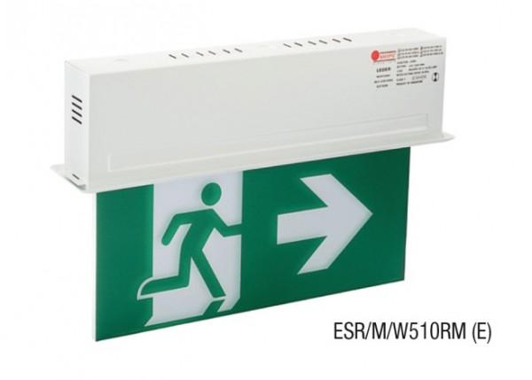 Đèn Thoát Hiểm Chỉ Dẫn 2 Mặt MAXSPID ESR/M/W510RM (E)