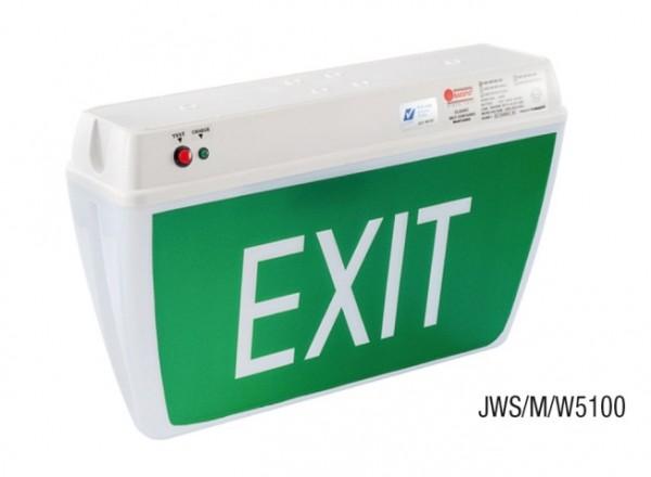 Đèn Thoát Hiểm Chỉ Dẫn Exit 1 Mặt MAXSPID JWS/M/W5100