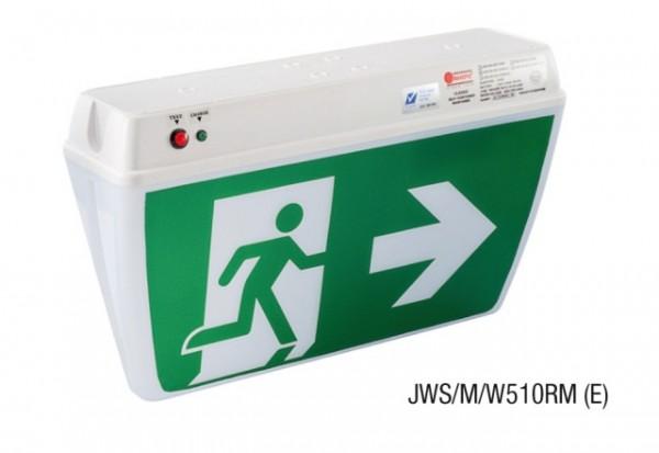 Đèn Thoát Hiểm Chỉ Dẫn 2 Mặt MAXSPID JWS/M/W510M (E/W)