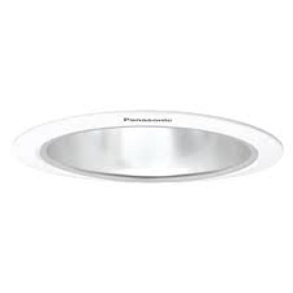 NLP74422-Đèn Downlight bóng lắp ngang Ø150, viền trắng, chóa bạc bóng