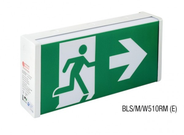 Đèn Thoát Hiểm Bảng Chỉ Dẫn 1 Mặt  MAXSPID BLS/M/W510RM (E)