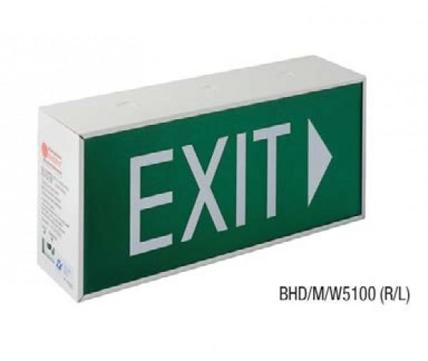 Đèn Thoát Hiểm Bảng Chỉ Dẫn Exit 2 Mặt MAXSPID BHD/M/W5100 (R/L)