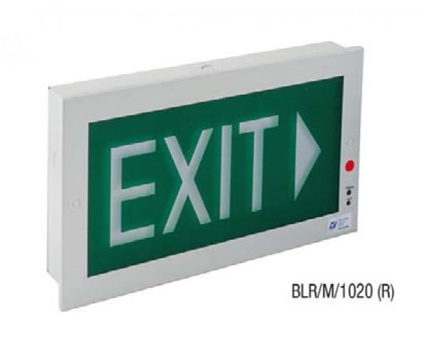 Đèn Thoát Hiểm Bảng Chỉ Dẫn Exit 1 Mặt MAXSPID BLR/M/1020