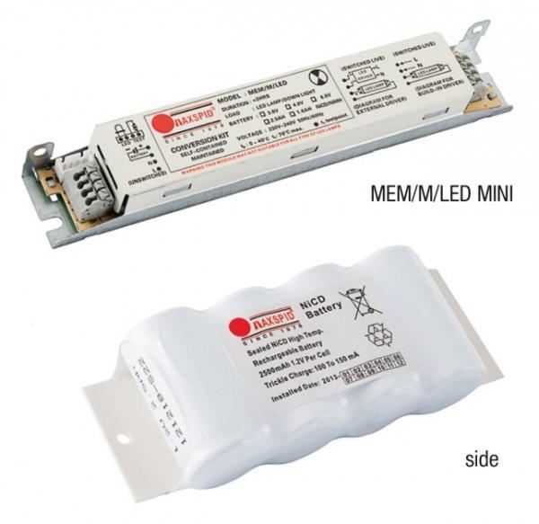 Bộ Pin Sạc Cho Bóng Led T5 và T8 Ra Điện Áp DC MAXSPID MEM/M/LED MINI