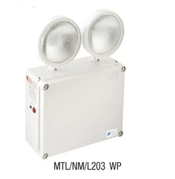 Đèn Sự Cố Dùng Bóng LED 2x3W, IP65 MAXSPID MTL/NM/L203 WP
