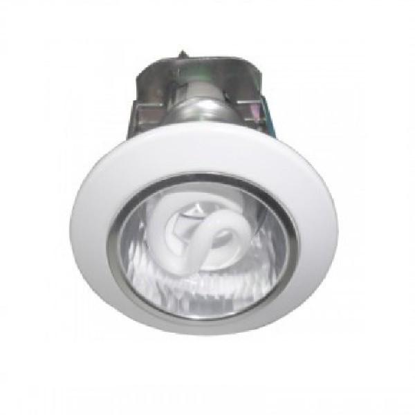 FLN01031-Đèn Downlight âm trần Ø90, chóa vân carô xiên