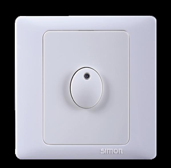 Công tắc thời gian trễ cho đèn sợi đốt max 100W, đèn huỳnh quang và tiết kiệm năng lượng max 60W Simon 45E501