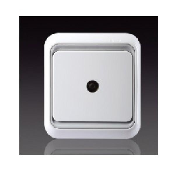 Ổ cắm TV kích thước tiêu chuẩn 9.52mm và hai đầu nối vào chuẩn F Simon 60476-50
