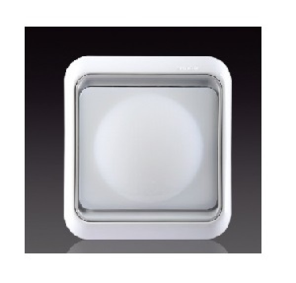 Đèn báo LED, AC220V+-10%, 2W, màu trắng 60802LED-50