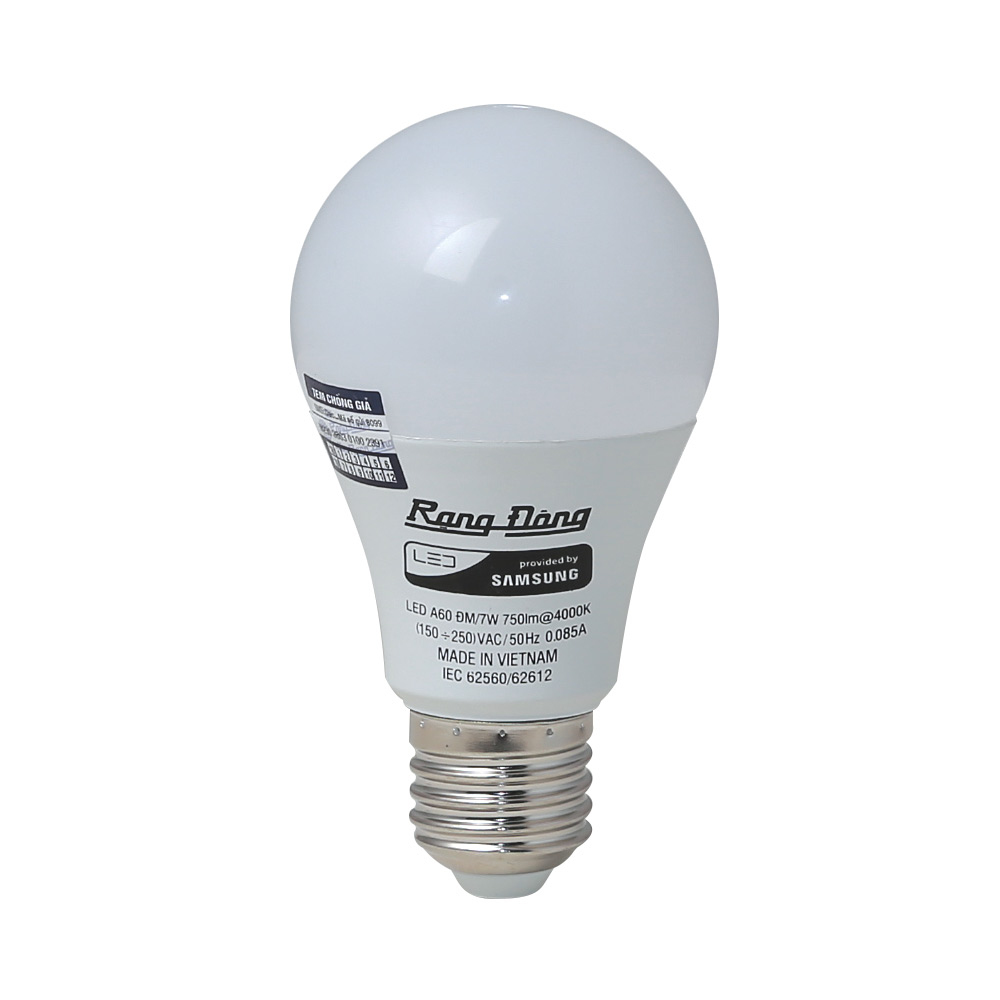 Bóng LED Bulb đổi màu A60/7W E27