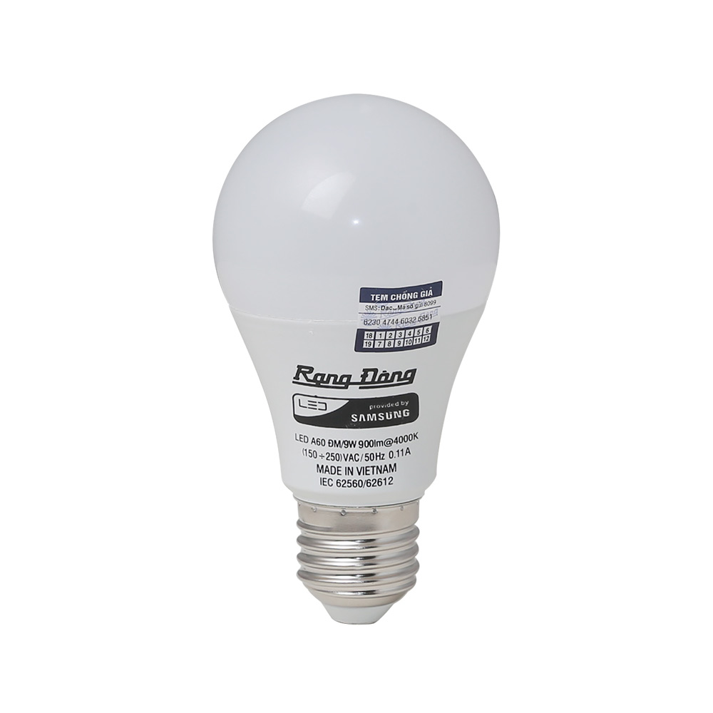 Bóng LED Bulb A60N1/9W E27 SS