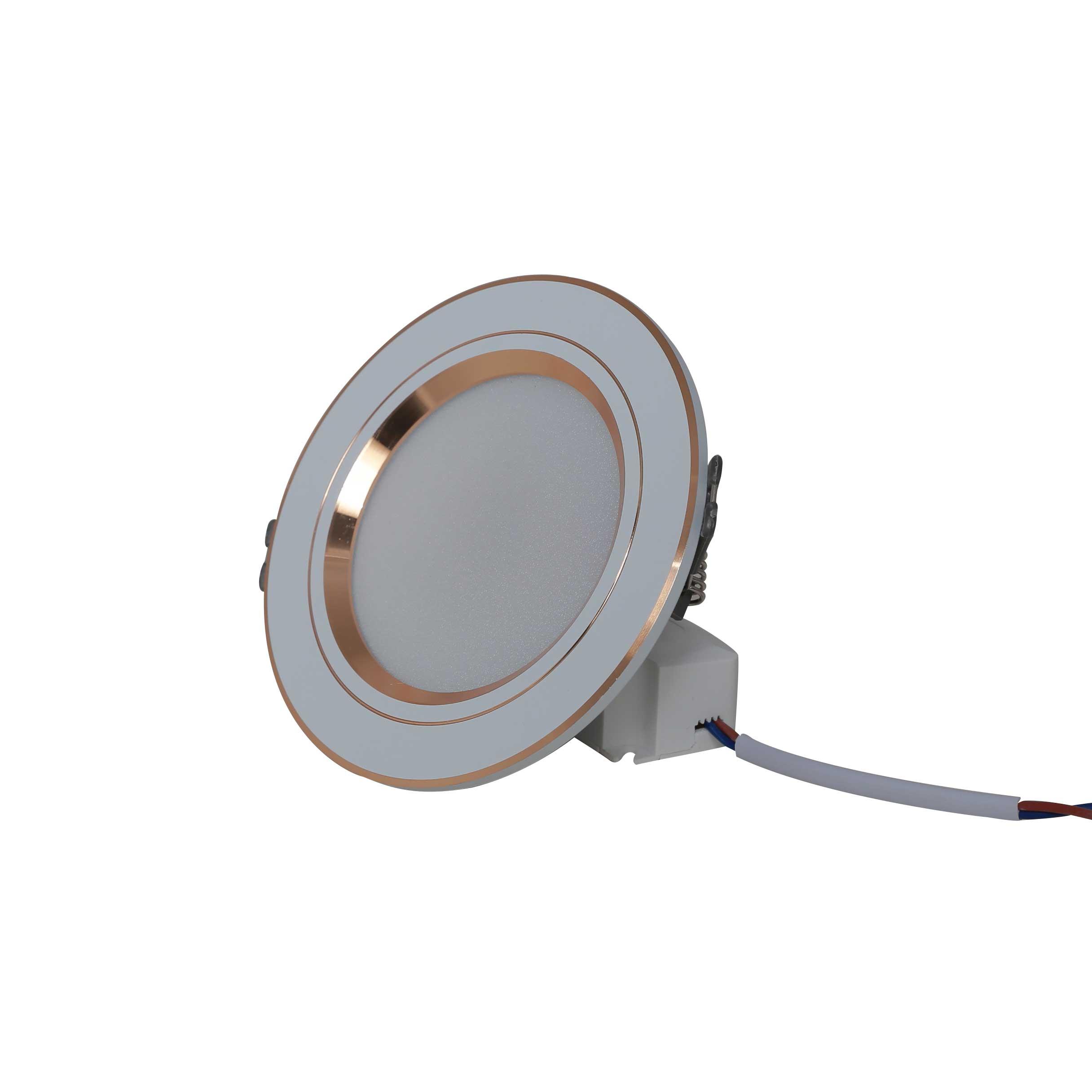 Đèn LED Downlight đổi màu AT10 90/7W SS