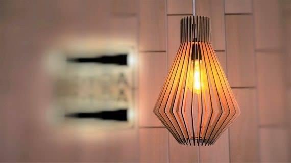 Đèn Gỗ Trang Trí DG/11010